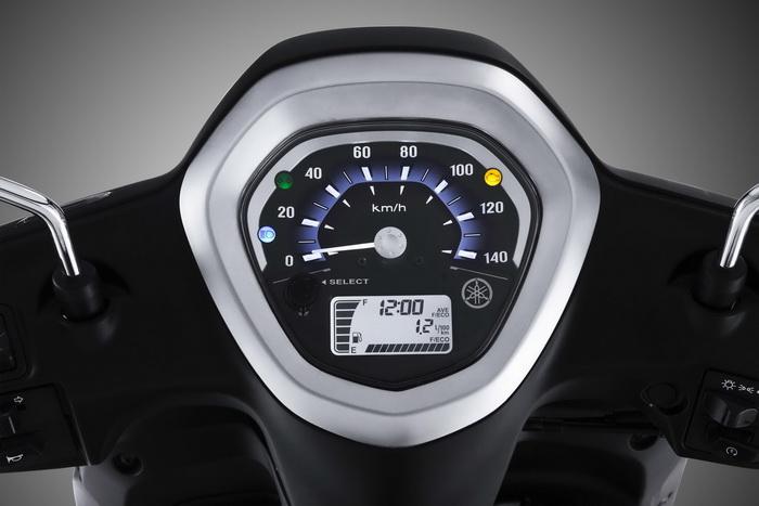 Mặt đồng hồ xe Yamaha Grande deluxe 2017