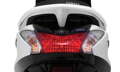 Đuôi xe Yamaha Acruzo