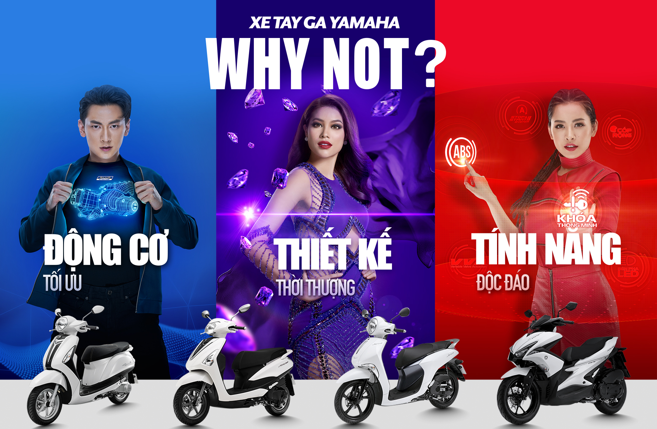 CHIẾN DỊCH WHY NOT YAMAHA VIET NAM