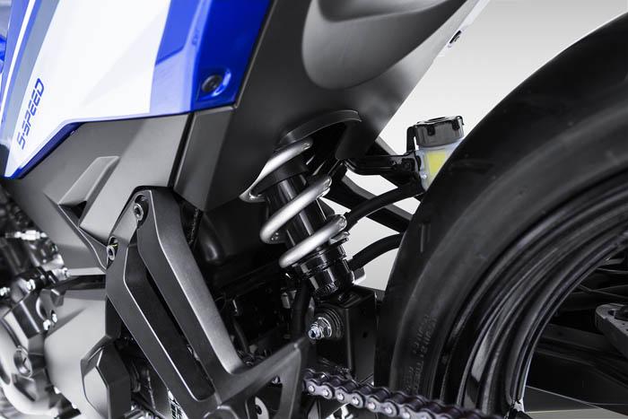 Phuộc sau exciter 150cc 2015
