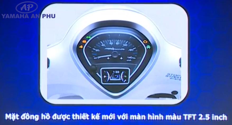 Mặt đồng hồ Yamaha Grande Hybrid 2019